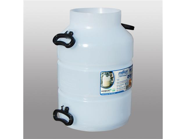Vasilhame Plástico para Leite Unipac Milkan Ordenhadeira 40 Litros