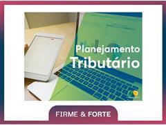 Planejamento Tributário - Safras & Cifras