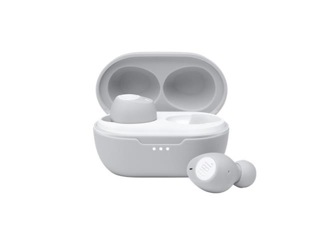 Fone de Ouvido Sem Fio Bluetooth JBL Tune 115 TWS Branco JBLT115TWSWHT