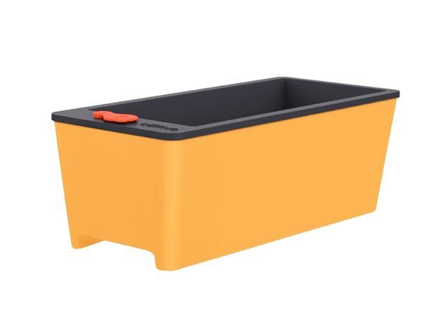 Vaso Autoirrigável Tramontina em Polipropileno Amarelo 12 Litros