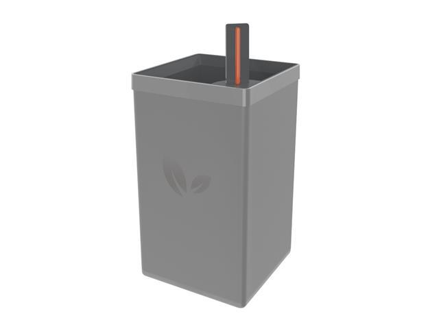 Vaso Autoirrigável Tramontina em Polipropileno Cinza 800ML