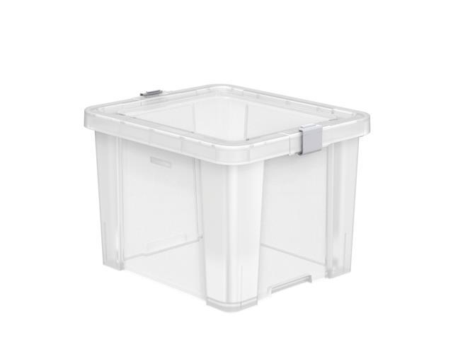 Caixa Organizadora Tramontina Office 30 Litros Transparente