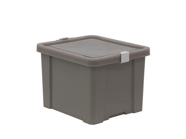 Caixa Organizadora Tramontina Laundry 30 Litros Camurça