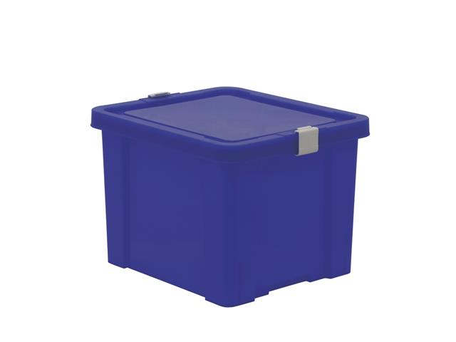 Caixa Organizadora Tramontina Kids 30 Litros Azul