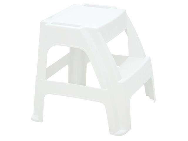 Banqueta Escada Tramontina Paiva Branco