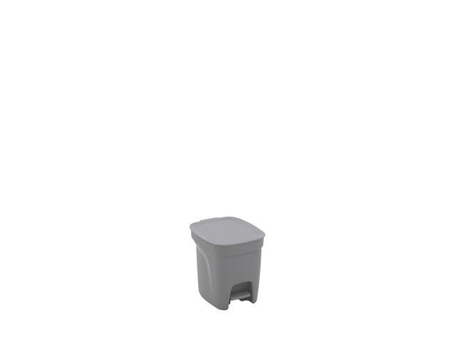 Lixeira Tramontina Compact 7 Litros Cinza