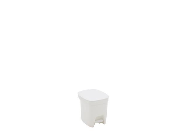 Lixeira Tramontina Compact 7 Litros Branca