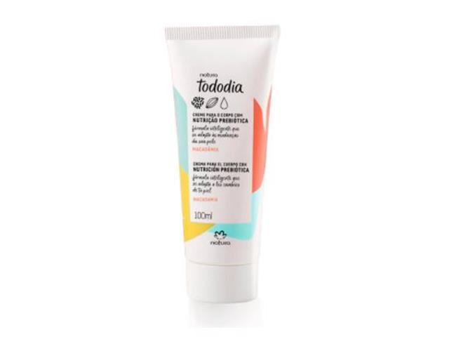 Creme Desodorante Nutritivo Corporal Natura TodoDia Macadâmia 100ML