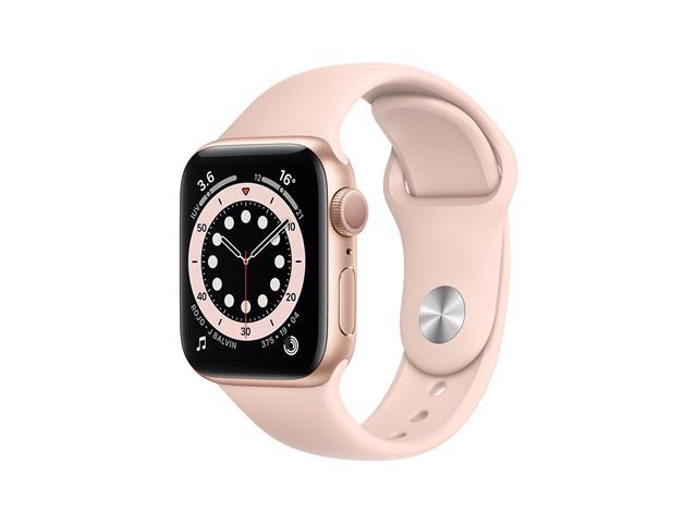 Apple Watch MG123LZ/A S6 GPS 40mm Aluminio Oro Correa Dep Rosa Arena