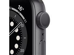 Apple Watch M00H3LZ/A S6 GPS 44mm Alum Gris Espacial Correa Dep Negra - 1
