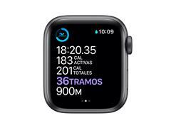 Apple Watch M00H3LZ/A S6 GPS 44mm Alum Gris Espacial Correa Dep Negra - 2