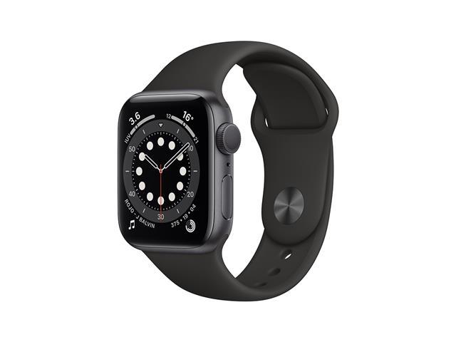 Apple Watch MG133LZ/A S6 GPS 40mm Alum Gris Espacial Correa Dep Negra