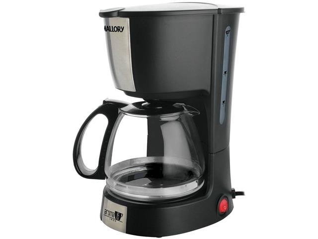Cafeteira Elétrica Mallory Aroma 16 xícaras Inox
