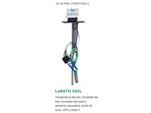 Micro Estación y Gateway LORATH-SOIL-L + TTIG915