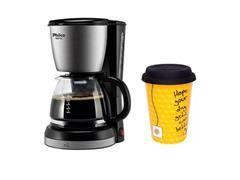 Combo Cafeteira Elétrica Philco + Copo Chá Trip Oxford 300ML