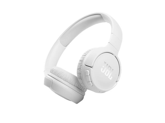 Fone de Ouvido Bluetooth JBL T510BT Branco JBLT510BTWHT