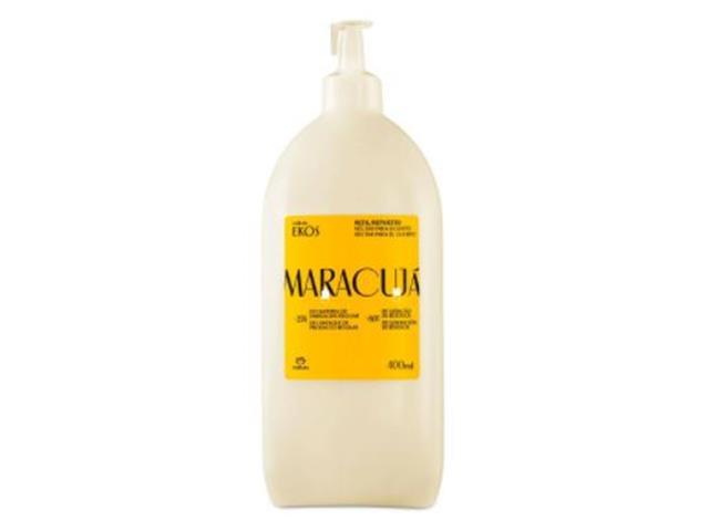 Refil Néctar Desodorante Hidratante Corpo Natura Ekos Maracujá 400ML