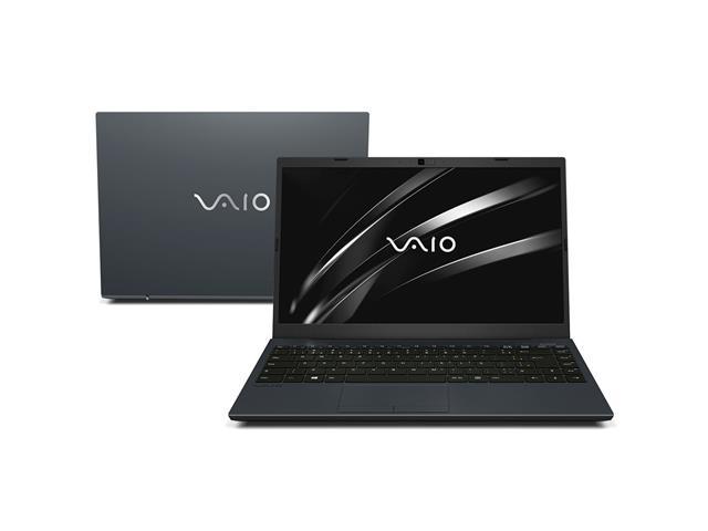 """Notebook VAIO® FE14 Core™ i5 8GB HD SSD 256GB Tela FHD 14"""" W10 Cinza"""