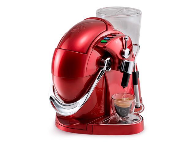 Cafeteira Espresso Automática Três Corações Gesto Vermelha