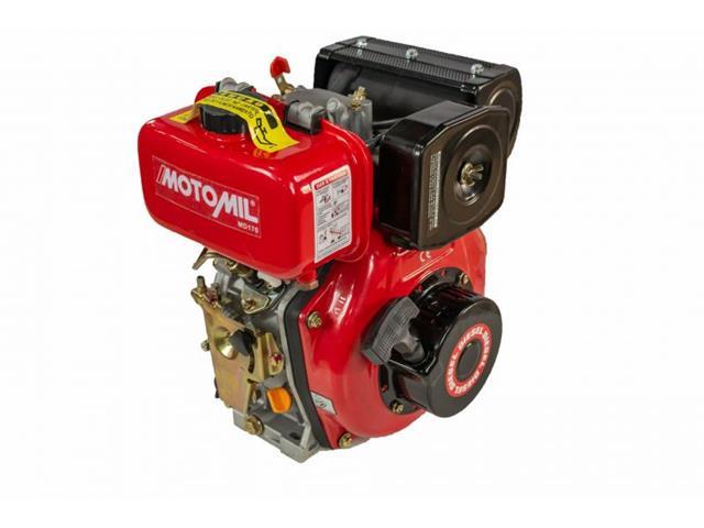 Motor Motomil MD-170 Horizontal 4.2HP 3600RPM Manual à Diesel