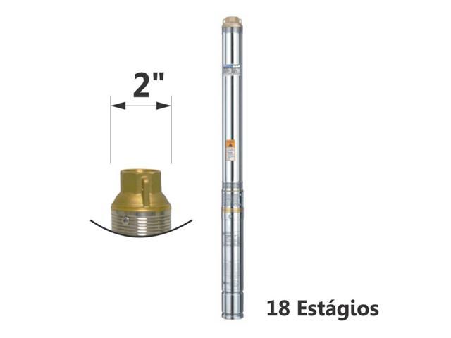 Motobomba Submersa Eletroplas Caneta S/CB 1/3CV Monofásico