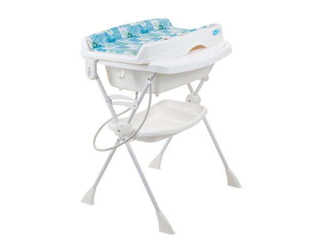 Banheira de Bebê Burigotto Splash Peixinhos Azul