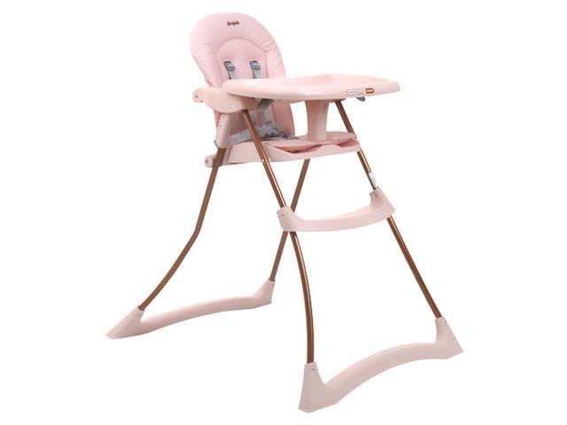 Cadeira Infantil para Alimentação Alta Burigotto Bom Appetit XL Rosa