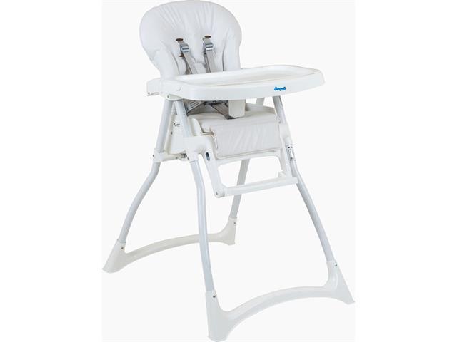 Cadeira Infantil para Alimentação Alta Burigotto Merenda Branca