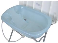 Banheira de Bebê Burigotto Tchibum Baby Blue - 2