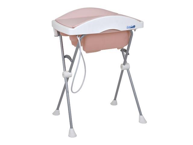 Banheira de Bebê Burigotto Tchibum Rosé Madder
