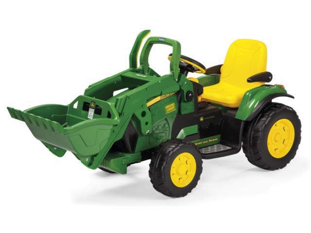 Trator Elétrico Infantil Peg-Pérego John Deere Ground Loader 12V