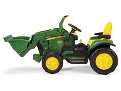 Trator Elétrico Infantil Peg-Pérego John Deere Ground Loader 12V - 1