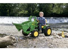 Trator Elétrico Infantil Peg-Pérego John Deere Ground Loader 12V - 3