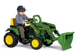 Trator Elétrico Infantil Peg-Pérego John Deere Ground Loader 12V - 2