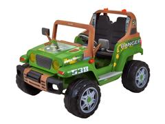 Carrinho Elétrico Infantil Peg-Pérego Jipe Ranger 538 12v 340W Verde