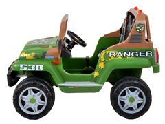 Carrinho Elétrico Infantil Peg-Pérego Jipe Ranger 538 12v 340W Verde - 1