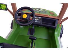 Carrinho Elétrico Infantil Peg-Pérego Jipe Ranger 538 12v 340W Verde - 3