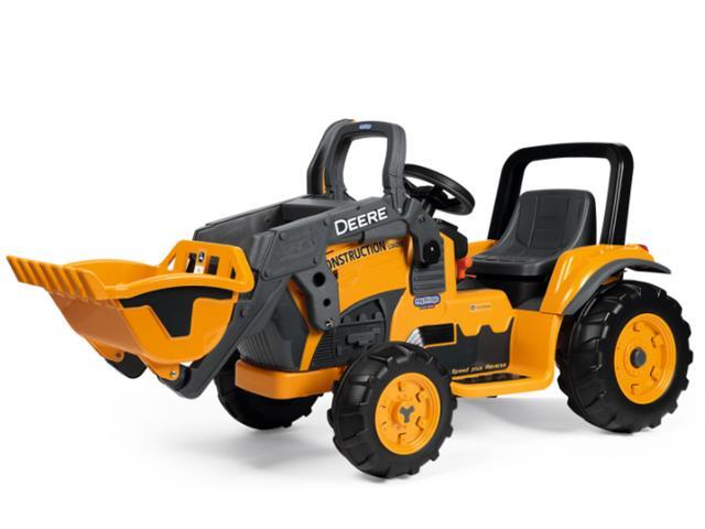 Trator Elétrico Infantil Peg-Pérego John Deere Construction Loader 12V