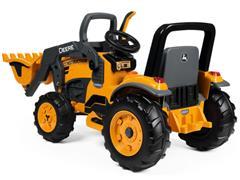 Trator Elétrico Infantil Peg-Pérego John Deere Construction Loader 12V - 2