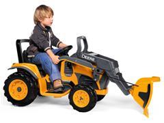 Trator Elétrico Infantil Peg-Pérego John Deere Construction Loader 12V - 7