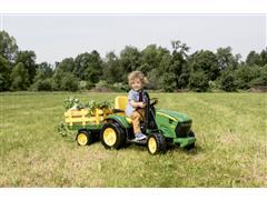 Trator Elétrico Infantil Peg-Pérego John Deere Ground Force 12V - 3