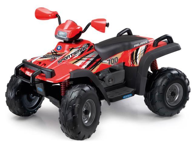 Quadriciclo Elétrico Peg-Pérego Polaris Sportsman 700 New Red 12V