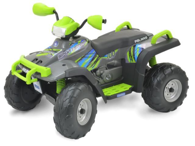 Quadriciclo Elétrico Peg-Pérego Polaris Sportsman 700 Lime 12V