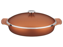 Frigideira com Tampa Tramontina Lyon Design Collection Cobre 32cm
