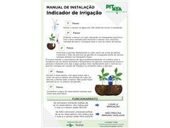 Indicador de Irrigação Intensa Pitaya Tensão de Água no Solo de 10 kPa - 1
