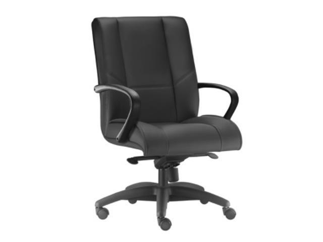 Cadeira New Onix Diretor Preta Cromada e Rodízio para Carpete