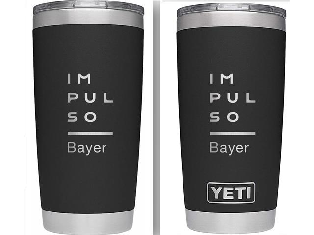 YETI Rambler de 20 onzas-Impulso Bayer