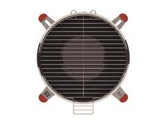 Grill a Carbón Acero Inoxidable - 1