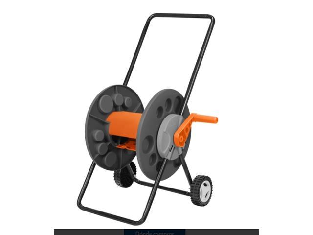 Enrolladora de mangera con ruedas