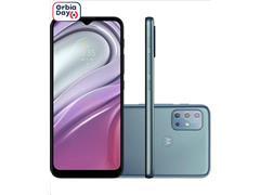 """Smartphone Motorola Moto G20 4G 64GB Tela 6.5""""QuadCâm 48+8+2+2MP Azul"""